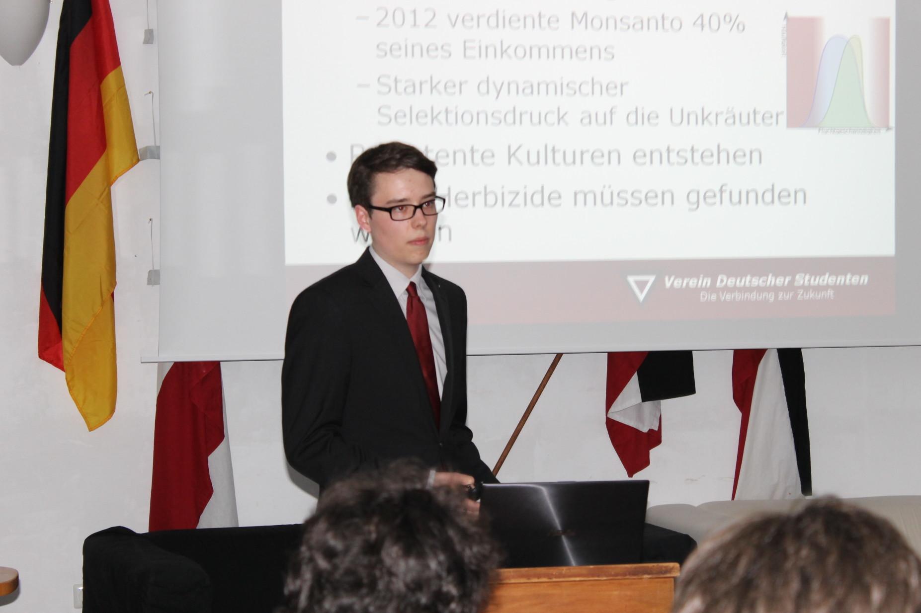 Burschungsvortrag zum Freihandelsabkommen von Nils Froleyks