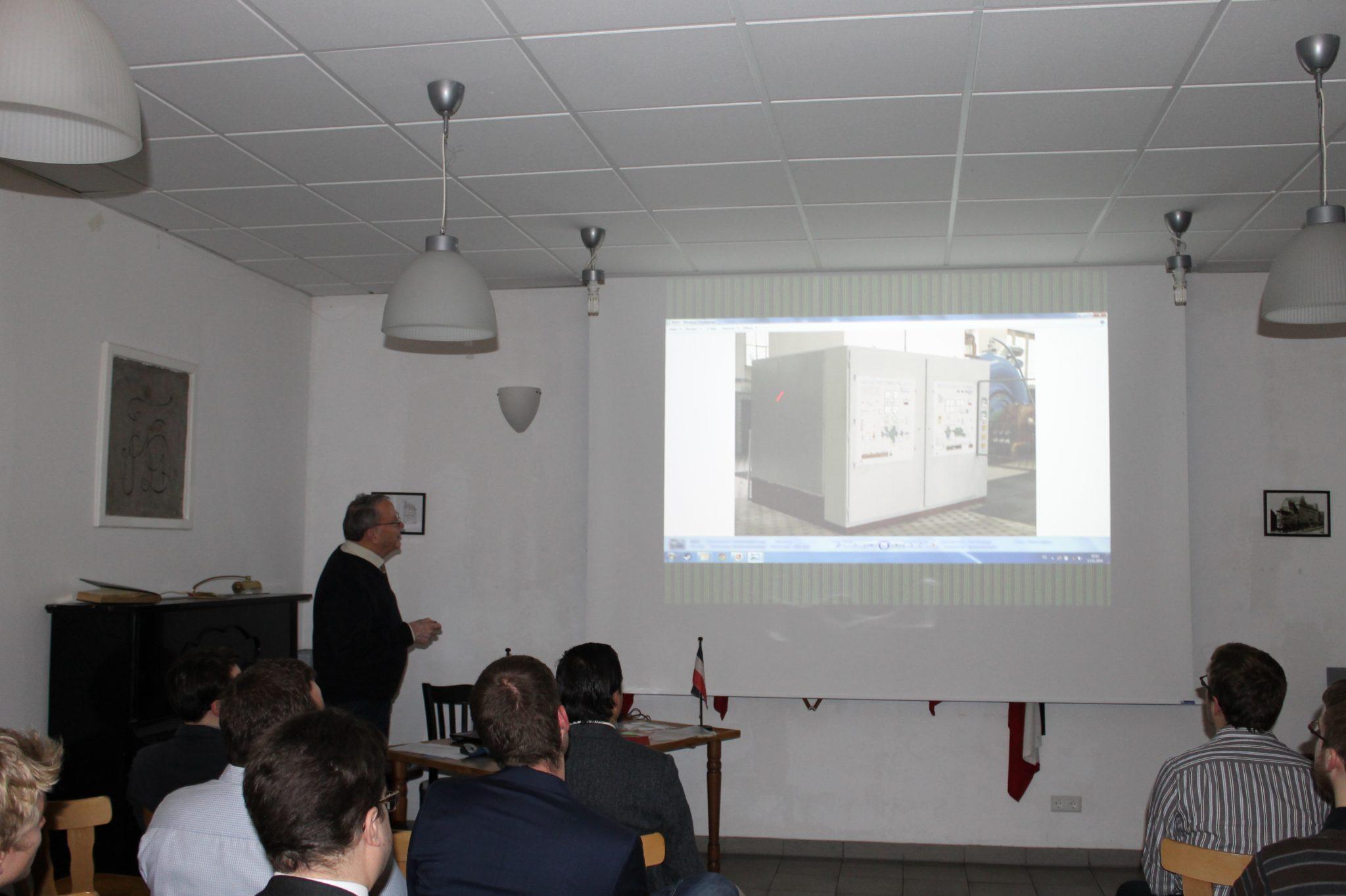 Das Pumpspeicherkraftwerk Forbach – ein technischer Vortrag von AH Peter Lange